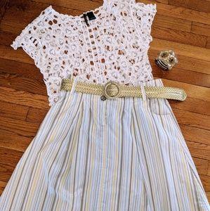 Adorable pleated skirt